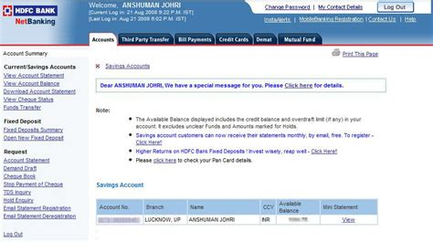how to make hdfc credit card hdfc credit card payment through other bank debit
