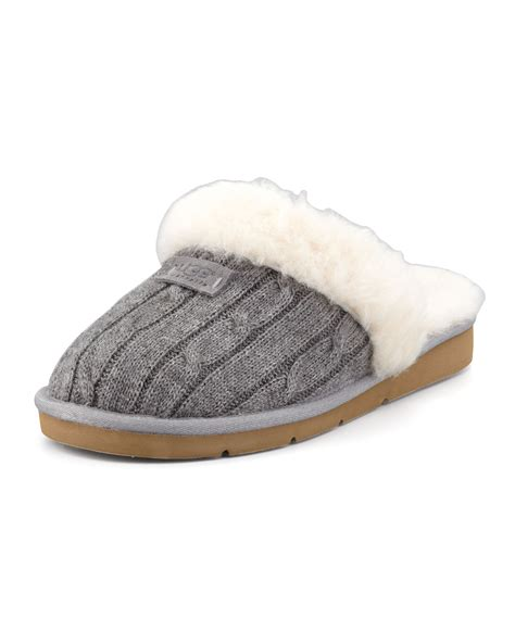 cozy knit ugg slippers ugg cozy knit slippers nordstrom