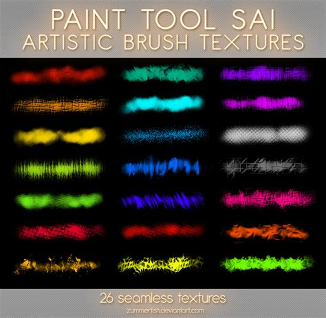 paint tool sai rar paint tool sai artistic textures vol1 by zummerfish on