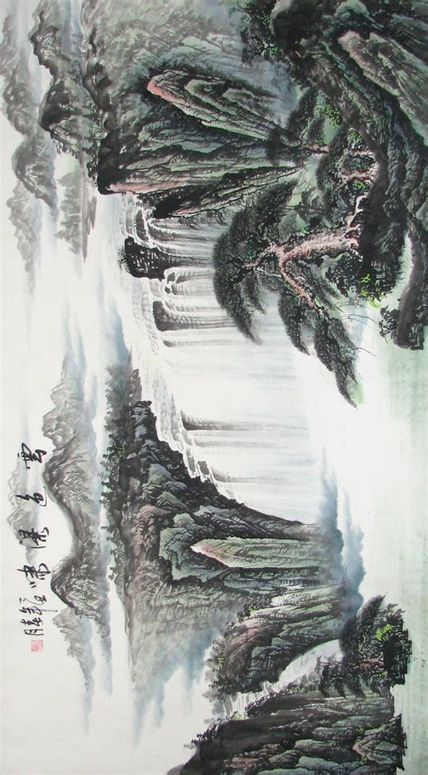 china painting differences and western landscape painting