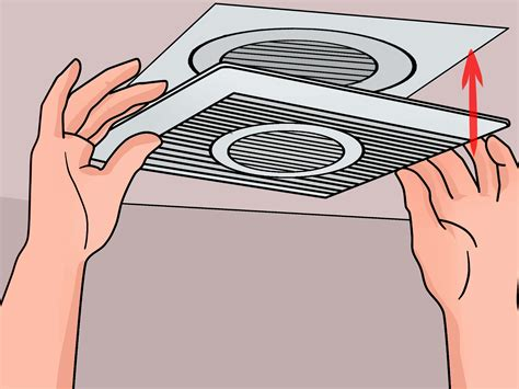 how to install a bathroom fan with a light how to install a bathroom fan with pictures wikihow realie
