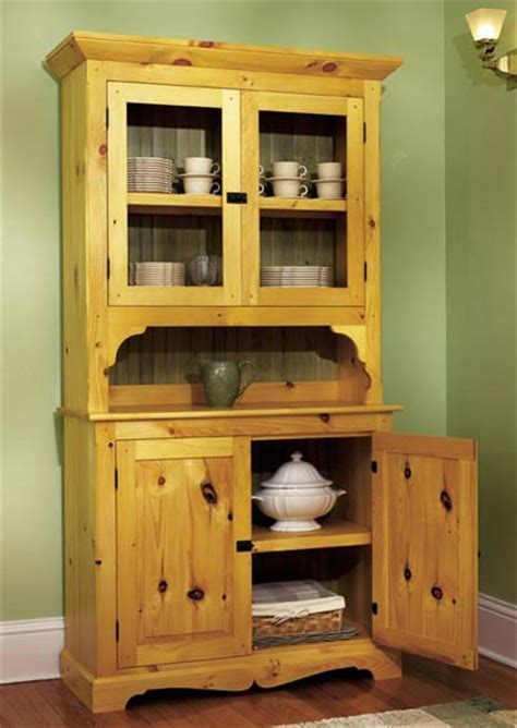 hutch woodworking plans heirloom pine hutch woodworking plan from wood magazine