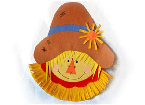 paper plate scarecrow craft scarecrow crafts archives family craftsfun family crafts