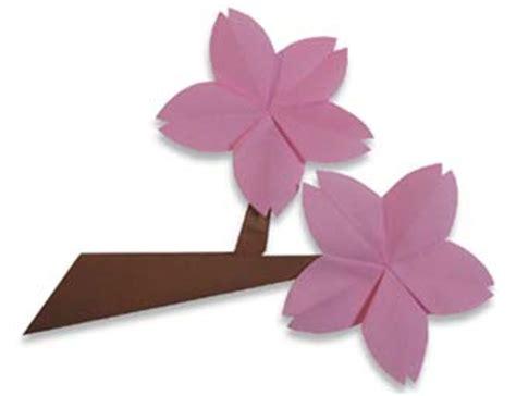 cherry blossom origami origami cherry