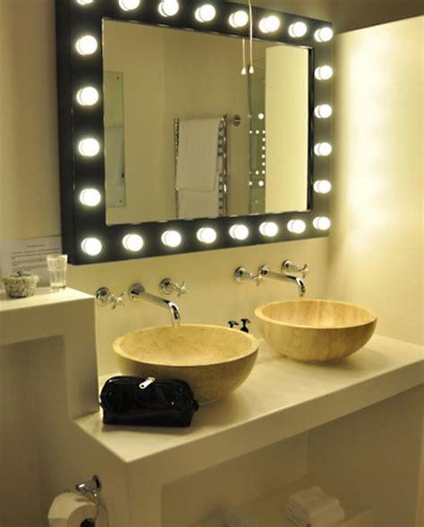 bathroom mirror with lights around it bathroom vanity lighting ideas slideshow