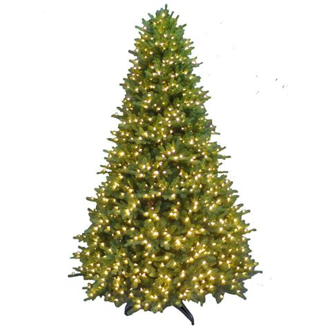 9 ft slim tree home depot national tree company 9 ft powerconnect fir