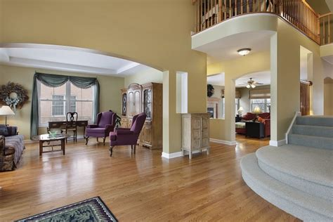 Center Hall Colonial Open Floor Plan 40 fantastic foyer entryways in luxury houses images