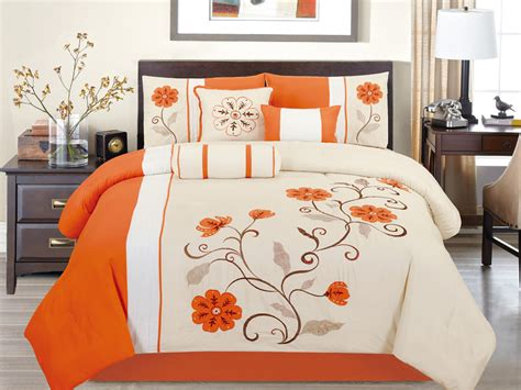 orange comforter sets king orange comforter sets king size pictures to pin on