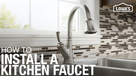 how replace kitchen faucet how to replace a kitchen faucet