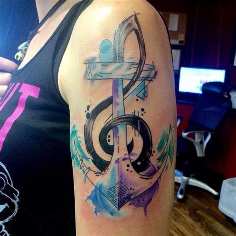 75 strong anchor tattoo designs and meaning