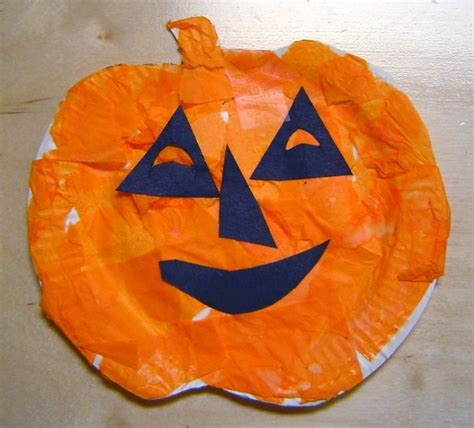 paper plate pumpkin craft paper plate pumpkins 7 fall themed crafts to create with