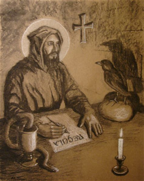 st benedict catholic cuisine st benedict the and the bread