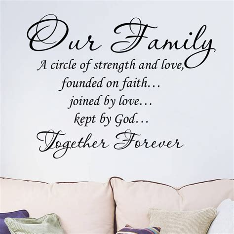 Funlife Wall Stickers awesome family sayings wall art 83 for your for this child