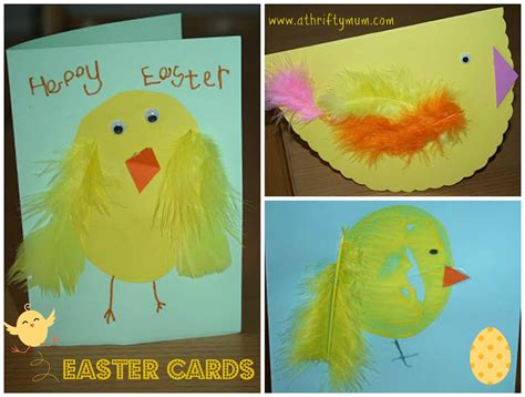 easter cards to make for children washi easter cards in the madhouse