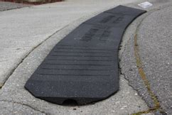 rubber st at home bridjit curb rs for driveways and more