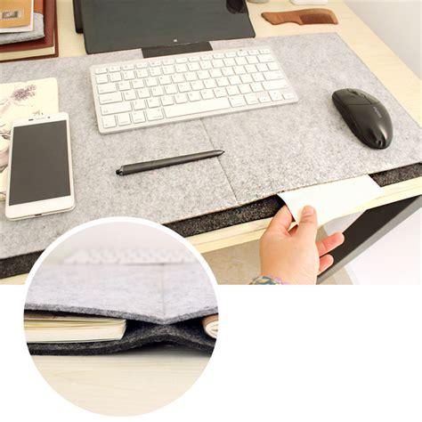 fashion durable computer desk mat modern table felt office