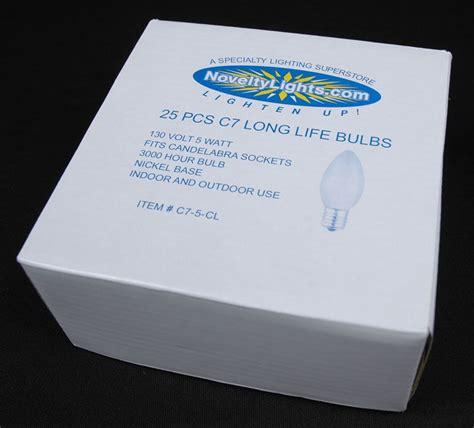 c7 ceramic replacement bulbs 25 pack of assorted c7 ceramic opaque replacement
