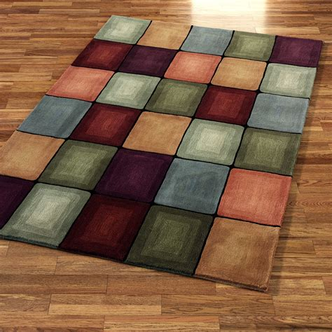 area rug patterns colorful circles rug pattern with rectangle shape placed