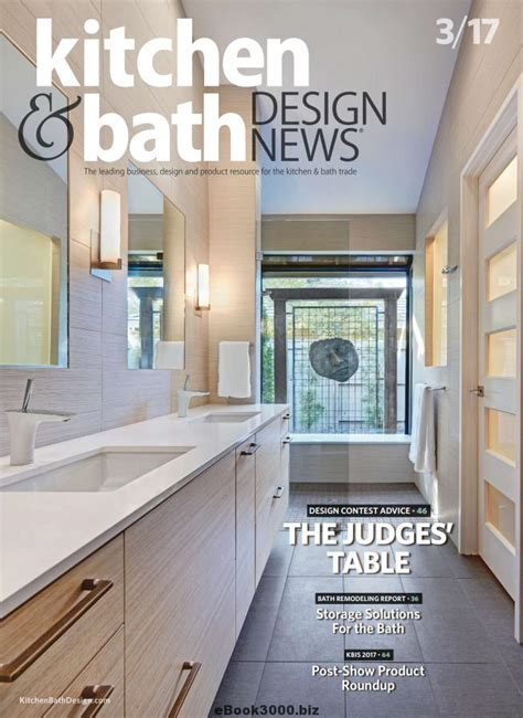 kitchen design magazines free kitchen bath design news march 2017 free pdf magazine