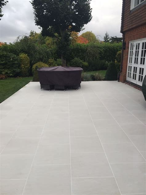 modern patio tiles product showcase white porcelain paving creates a