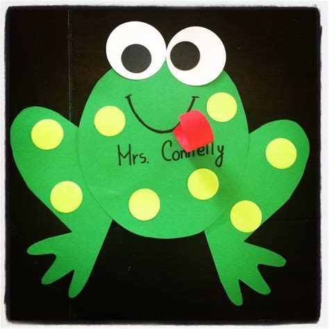 frog craft project kindergarten frog craft hop into into