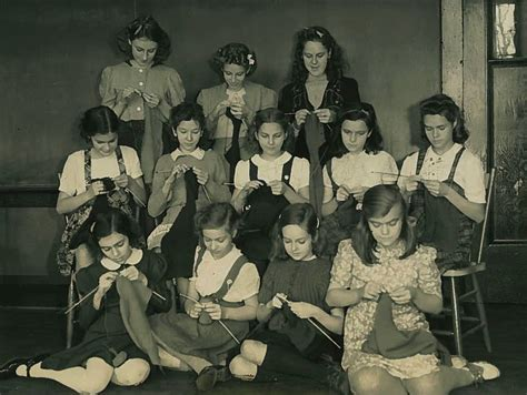 knitting for refugees today in history 1941 birch cliff news birch cliff news
