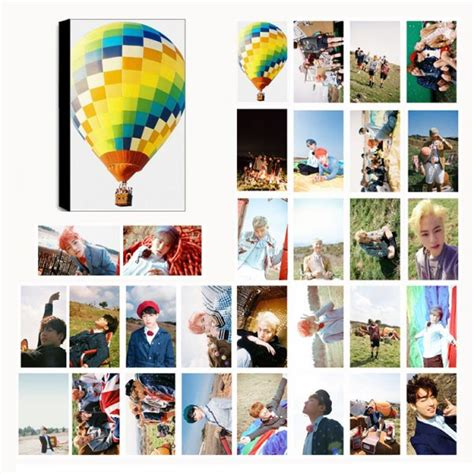 photo card bts in the mood for forever lomo photocard set