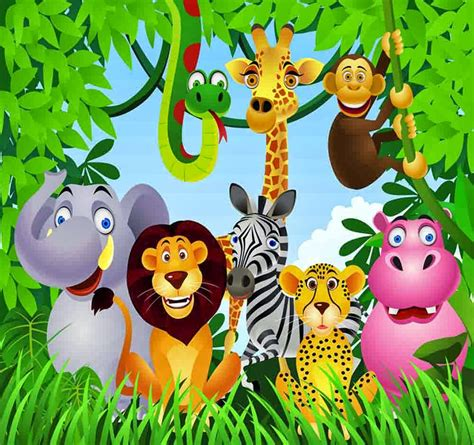 animal jungle realistic jungle animal coloring pages realistic