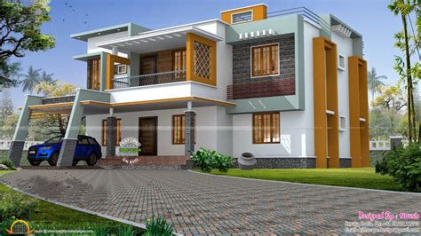 plans for houses box style house kerala home design and floor plans