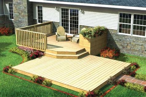 patio decks designs small deck designs on wood deck designs small