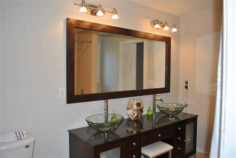 bathroom mirror frame ideas diy bathroom mirror frame ideas images