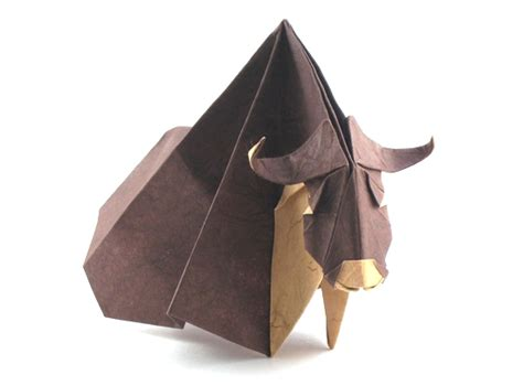 origami bison origami cows and buffalo page 2 of 2 gilad s origami page