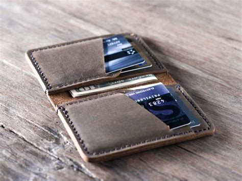 how to make a credit card wallet mens credit card wallet product categories gifts for