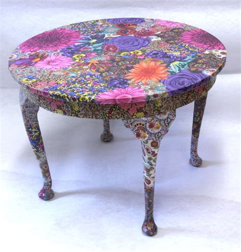 decoupage table 25 best ideas about decoupage furniture on