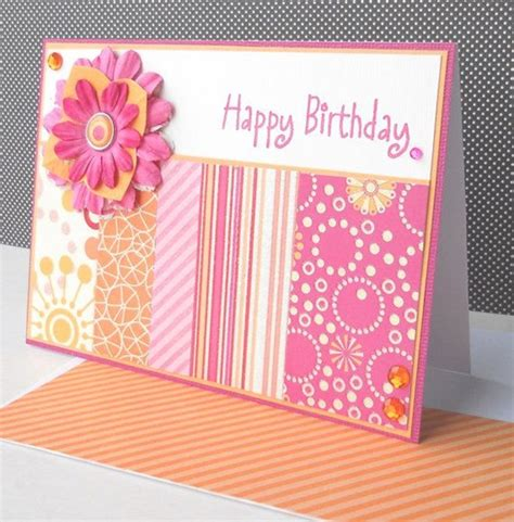 ideas of birthday cards 35 beautiful handmade birthday card ideas