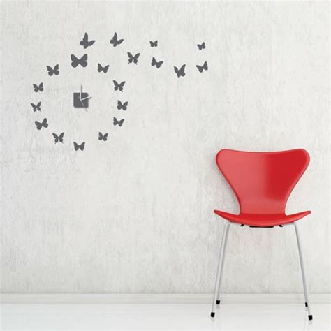 sticker wall clock stylish wall clocks wall stickers modern world