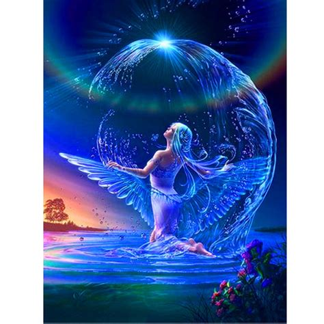 Mural Wallpaper For Walls water fairy pictures promotion shop for promotional water
