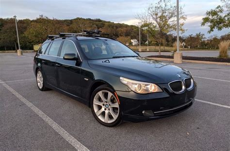 2008 Bmw 535xi by No Reserve 2008 Bmw 535xi Touring 6 Speed For Sale On Bat