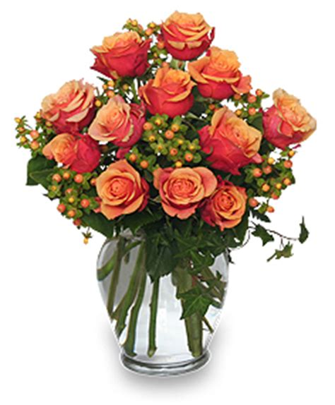 gift arrangements coral sunset bouquet of roses in paul mn jerry s