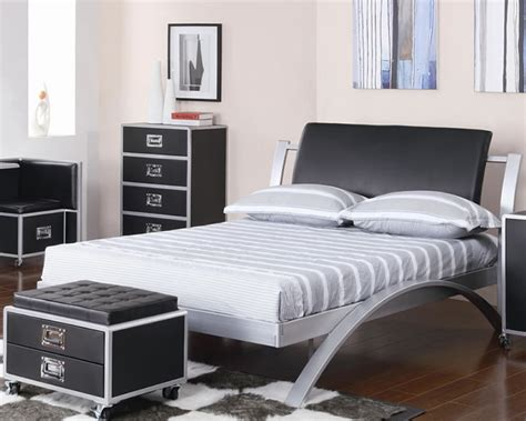modern black bedroom furniture black metal bedroom furniture furniture