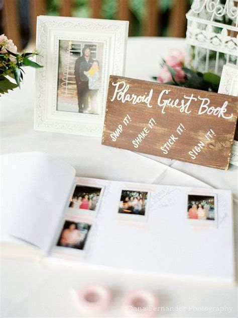 polaroid picture wedding guest book 1000 ideas about polaroid guest books on