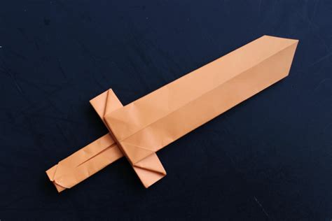 cool origami how to make a cool origami paper sword