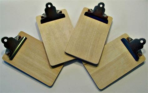 mini craft projects destash mini clipboards unfinished craft by lizziejoedesigns