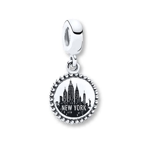 bead stores nyc jared pandora dangle charm new york city sterling silver
