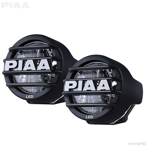 motorcycle lights piaa lp530 3 5 quot led fog light kit sae compliant 73530