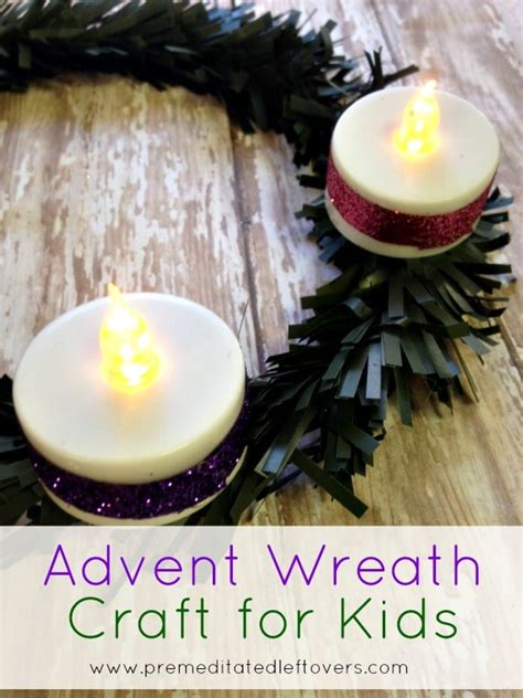 wreath craft for 100 simple catholic advent crafts and activities for