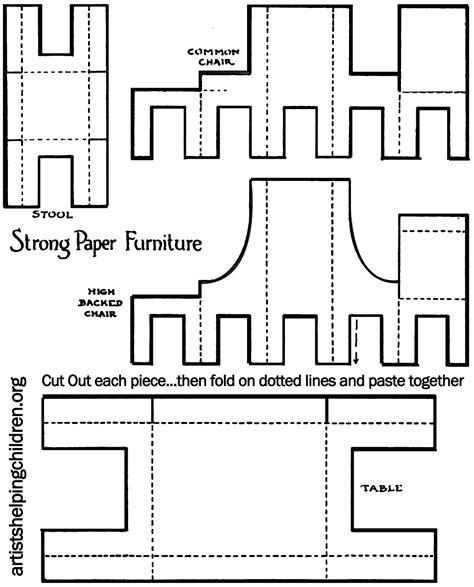 Watermark Floor Plan 8 best images of dollhouse printable 3d template free
