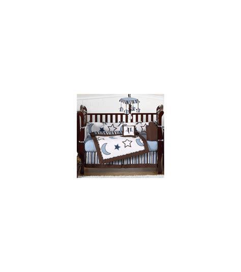 starry crib bedding set sweet jojo designs starry 9 crib bedding set