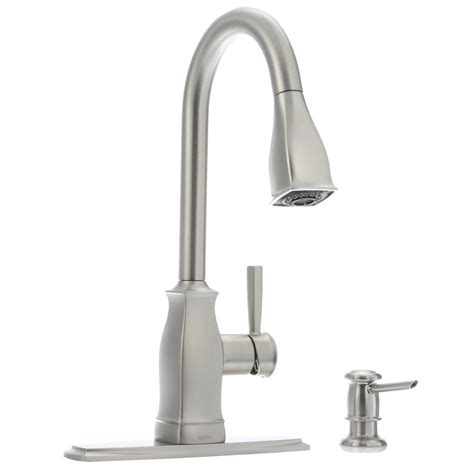 moen kitchen sink sprayer moen hensley single handle pull sprayer kitchen