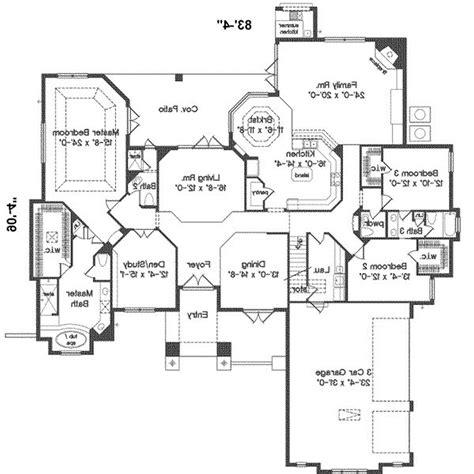 ranch house floor plans open plan open floor plan ranch style house